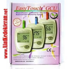 distributor easy touch GCU alat cek gula darah kolesterol asam urat murah di malang surabaya jakarta